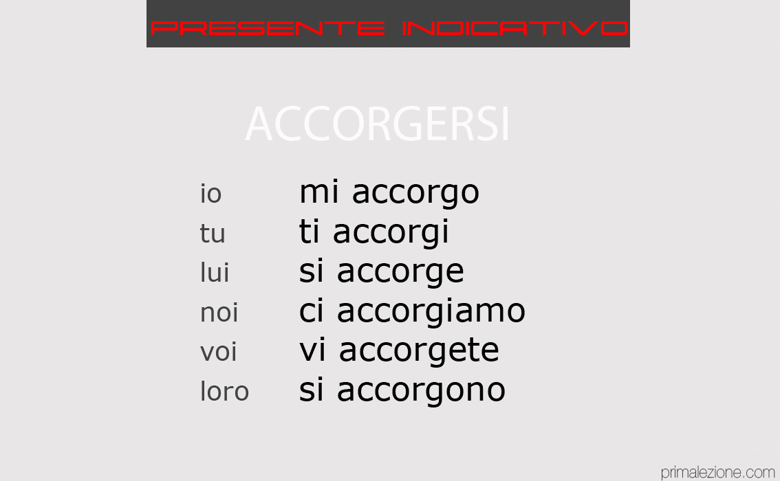 ACCORGERSI